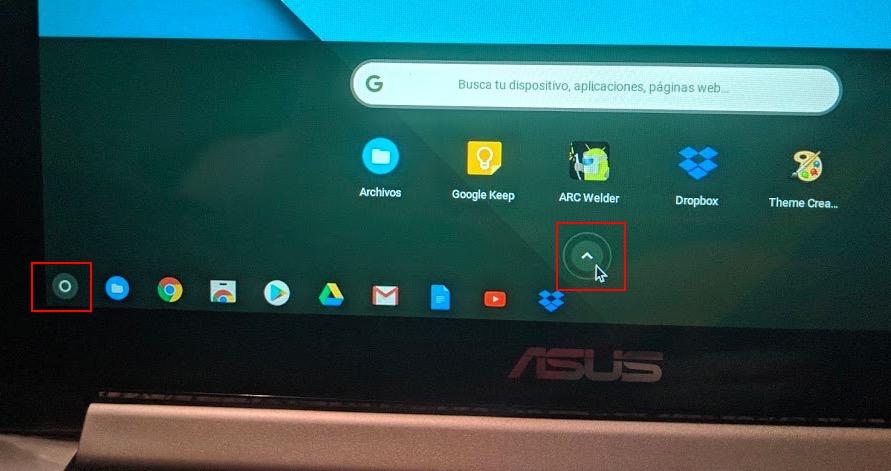 como crear un acceso directo en Chromebook