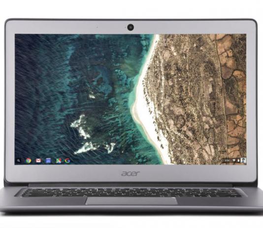 Chromebook con teclado español